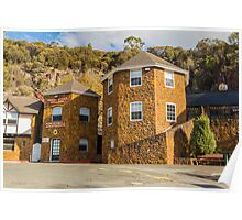 Penny Royal, Launceston, Tasmania, Australia Poster