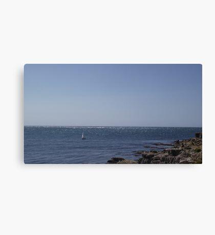 Lone Sailor Canvas Print