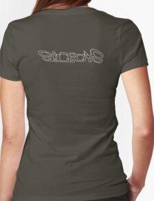 SAD BOYS 2 / YUNG LEAN (BLACK) Womens Fitted T-Shirt