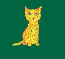 Annoyed and Grumpy Yellow Cat Unisex T-Shirt