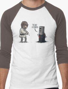'Tis But a Scratch Men's Baseball ¾ T-Shirt