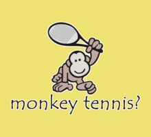 Monkey Tennis? Kids Clothes