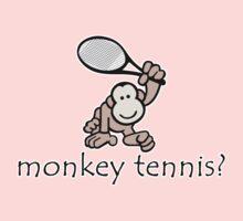 Monkey Tennis? Kids Tee