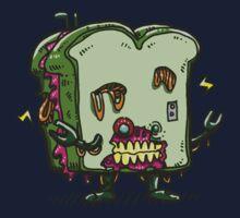 Zombie Sandwich Bot Kids Tee