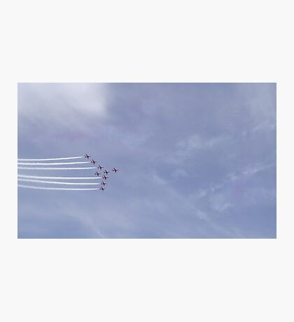 Red Arrows Two Photographic Print
