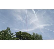 Red Arrows - Seven Photographic Print