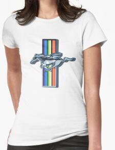 Rainbowdash Mustang  Womens Fitted T-Shirt