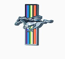 Rainbowdash Mustang  Unisex T-Shirt