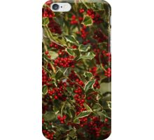 The Holly Bears a Berry iPhone Case/Skin