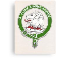 Clan Home Scottish Crest Canvas Print