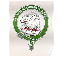 Clan Home Scottish Crest Poster