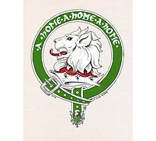 Clan Home Scottish Crest Photographic Print