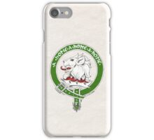 Clan Home Scottish Crest iPhone Case/Skin