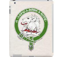 Clan Home Scottish Crest iPad Case/Skin