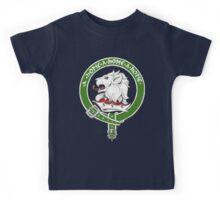 Clan Home Scottish Crest Kids Tee