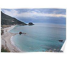 Potami beach - Samos, Greece Poster