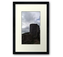 National Trust Corfe Castle Four Framed Print
