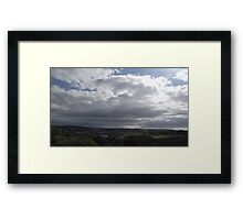 Changing Skys Framed Print