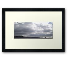 Changing Sky - Three Framed Print