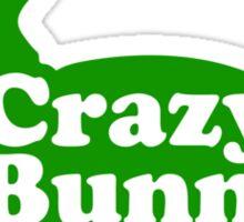 Crazy Bunny Lady Sticker