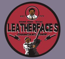 Leatherface's chainsaws shop by superedu