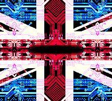 circuit board United Kingdom (flag) by sebmcnulty