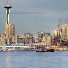 Seattle Tug by Sue Morgan