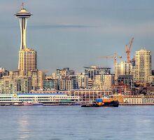 Seattle Tug by Sue Morgan