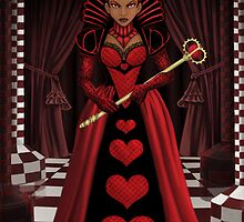 Ebony Queen of Hearts by Shakira Rivers