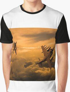 Harriers Sunset High Graphic T-Shirt