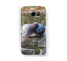 pigeons on lake Samsung Galaxy Case/Skin