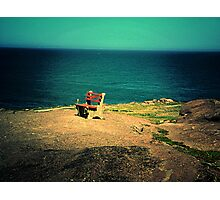 Lonely Rest Photographic Print