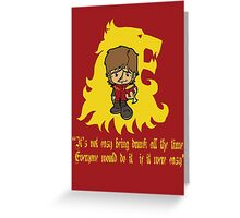 Thronies - Tyrion Greeting Card