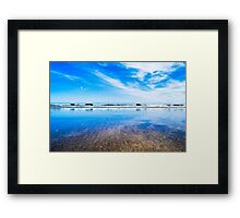 Waterford blue Framed Print