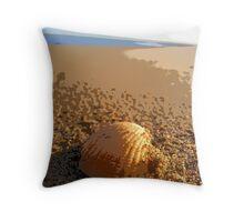 Sea shells edited Throw Pillow