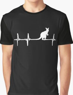 AUSTRALIA IN MY HEARTBEAT Graphic T-Shirt