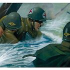 Rangers Lead the Way! (Digital Illustration)  by Amata415