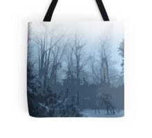 Comic Book Forest Tote Bag