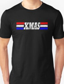 XMAS Bad Mofo Red White & Blue Christmas T-Shirt