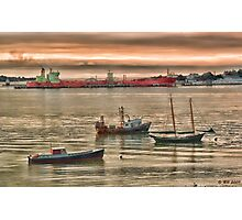 Harbor Morning Photographic Print
