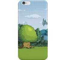 Pixelandscape iPhone Case/Skin