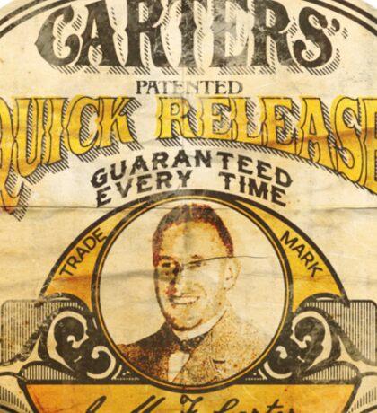 Carter's Quick Release Sticker