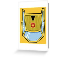 Transformers - Sunstreaker Greeting Card