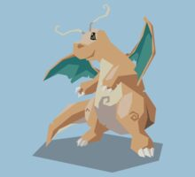 Cutout Dragonite by Avertis