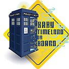 Doctor Who Tardis - Baby Timelord on Board by CptnLaserBeam