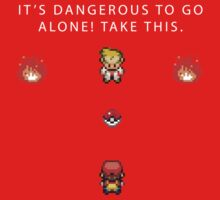 Dangerous to go Alone One Piece - Short Sleeve