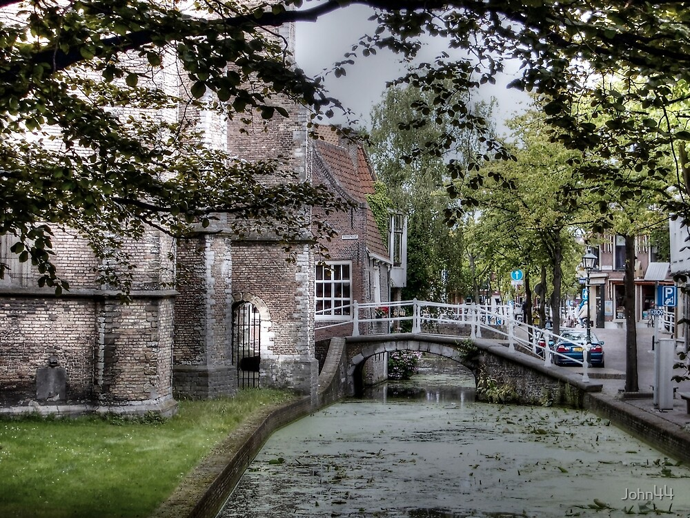 ...old Delft in Holland... 2  by John44