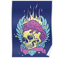 Skull Tee Poster