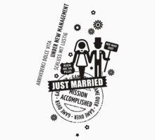Hochzeit / Wedding / Mariage / Casamiento / Matrimonio (Black) by MrFaulbaum