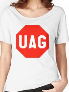 UAG Stop Codon Sign Women's Relaxed Fit T-Shirt